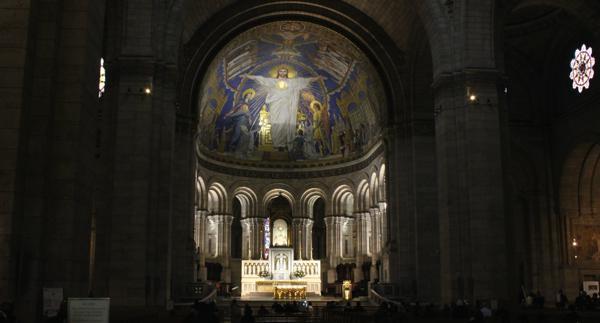 Kathedrale SacréCoeur in Paris
