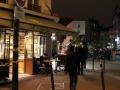 Straßenszene-Paris-bei-Nacht-II
