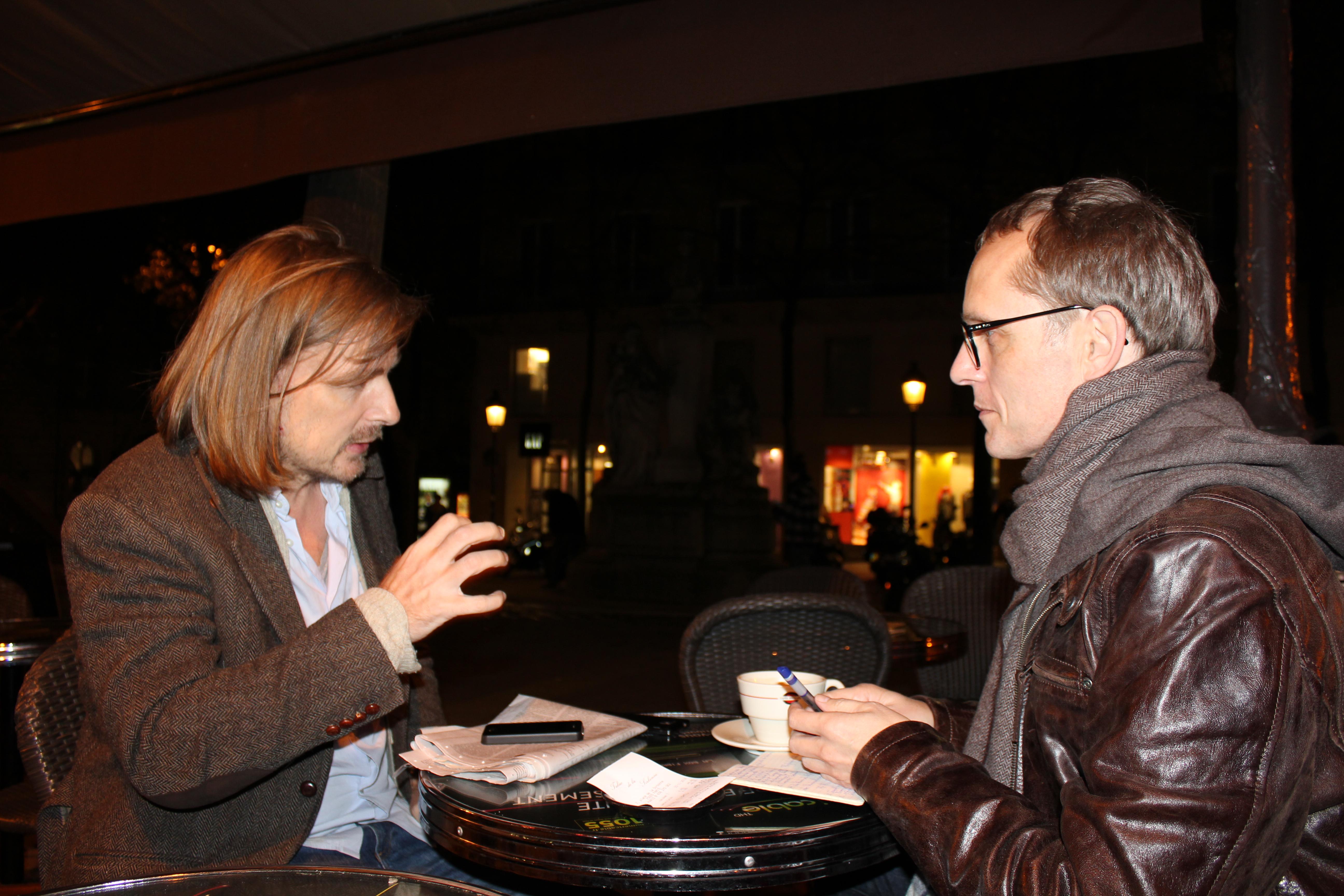 Prof. Thomas Lindemann (li.) und Günther Lachmann © Karin Lachmann