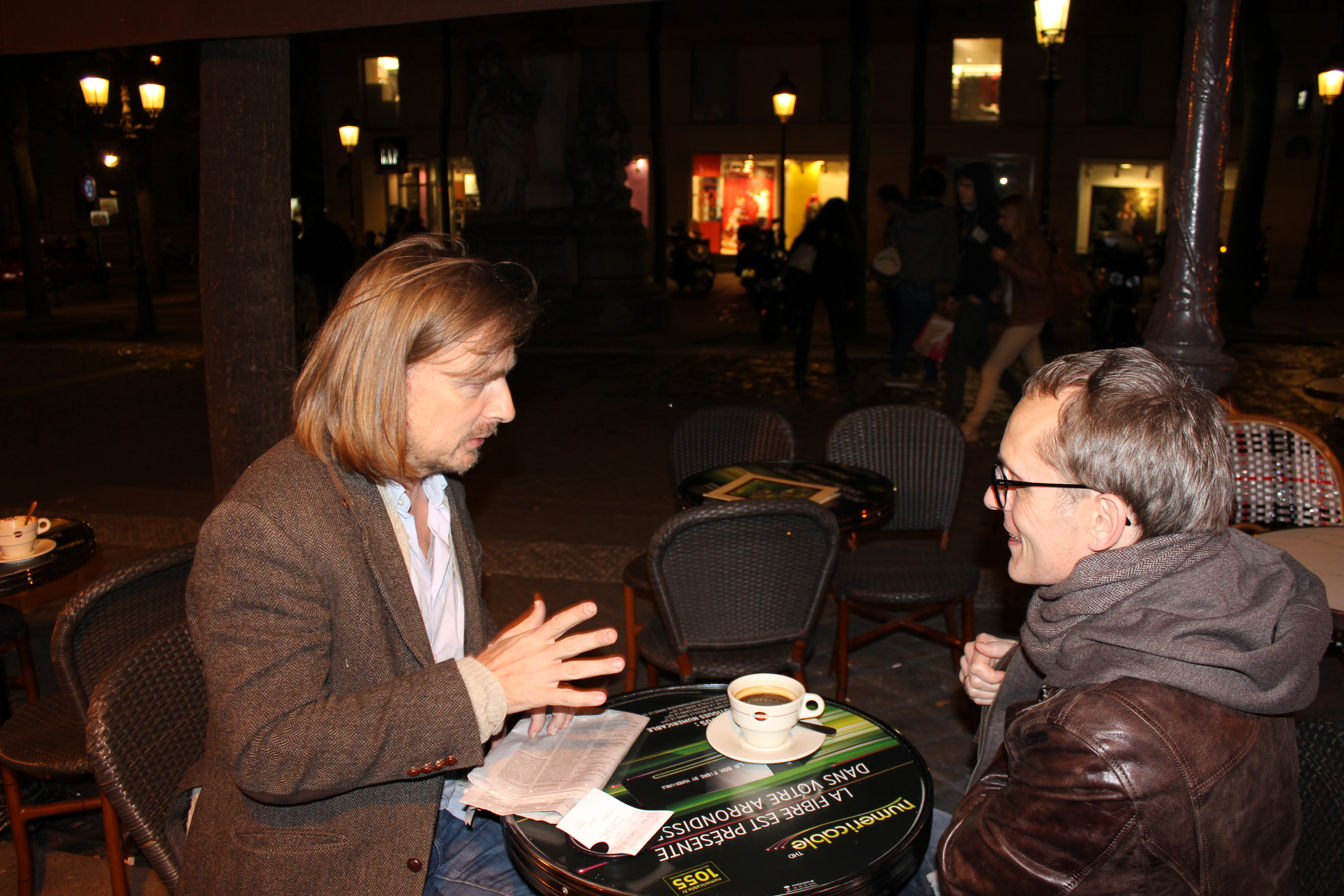 Prof. Thomas Lindemann (li.) und Guenther Lachmann © Karin Lachmann