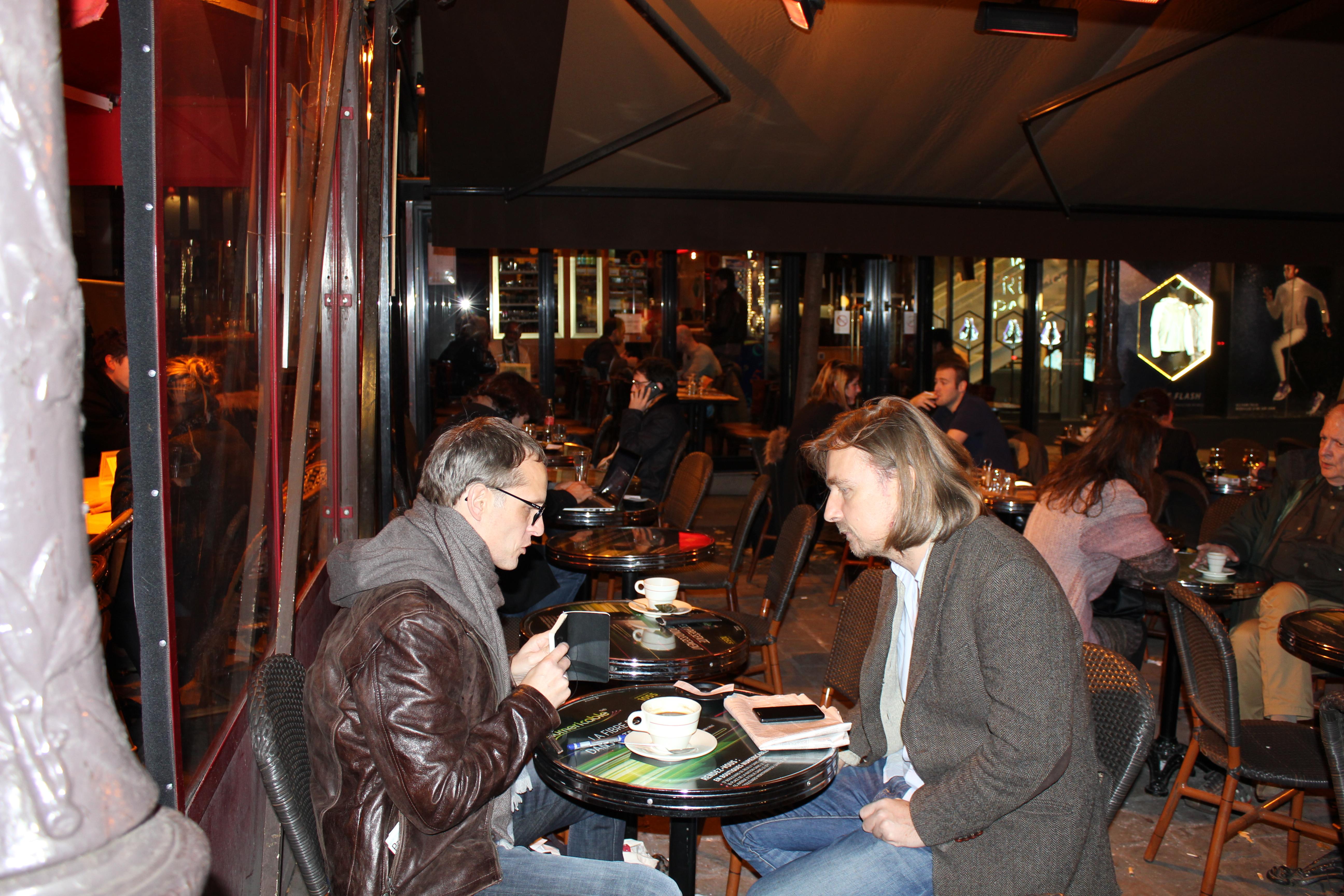Prof. Thomas Lindemann (re.) und Guenther Lachmann © Karin Lachmann