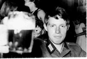 Karl Alich als Soldat der Nationalen Volksarmee 1968
