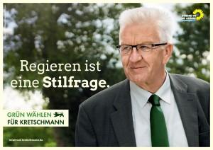Wahlplakat der Gruenen 2016