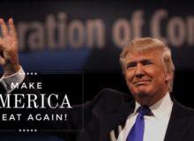 Die Kampagnen-Website von Donald Trump: https://www.donaldjtrump.com/