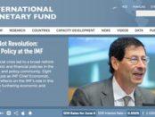 Screenshot der aktuellen IWF-Website: http://www.imf.org/external/index.htm