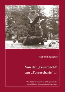 """Cover """"Von der Feuernacht zur Porzescharte"""" von Hubert Speckner"""