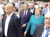 Merkel in Apolda © Wolfgang Prabel