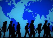 Wer ist Fluechtling, wer Migrant? / Quelle: Pixabay: lizenezfrei Bilder, open library: https://pixabay.com/de/weltkarte-menschen-gruppe-1005413/