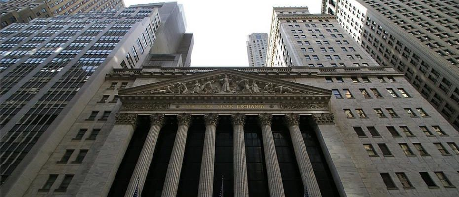 New York Stock Exchange / Quelle: Pixabay, lizenzfreie Bilder, open library: https://pixabay.com/de/wall-street-finanz-nyc-finanzen-621097/