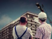Arbeit am Bau / Quelle: Pixabay, lizenzfreie Bilder, open library: https://pixabay.com/de/geb%C3%A4ude-professional-mitarbeiter-2762319/