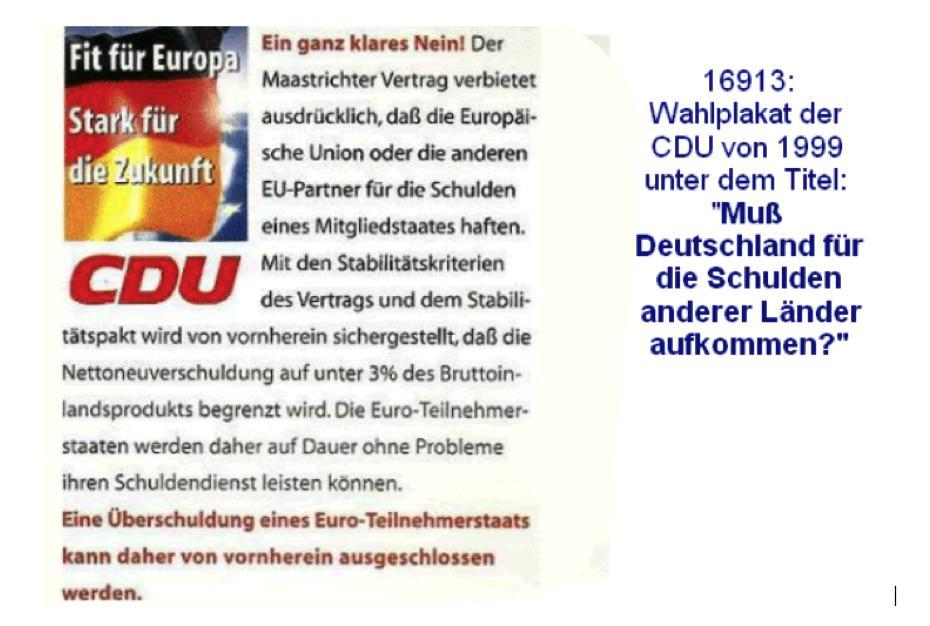CDU-Wahlwerbung / Friedrich & Weik