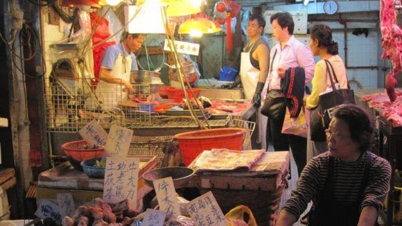 Markt in China / Quelle: Pixabay, lizenezfreie Bilder, open library: https://pixabay.com/de/photos/china-markt-chinesisch-344818/