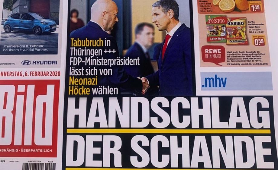 Schlagzeile der Bild Zeitung / Foto: GEOLITICO