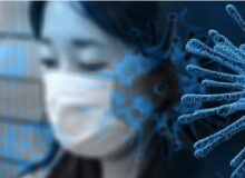 Virus Gefahr / Quelle: Pixabay, lizenezfreie Bilder, open library: geralt https://pixabay.com/de/illustrations/coronavirus-virus-mundschutz-4817450/