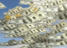 Dollarregen / Geld/ Qiuelle: Pixabay, lizenzfreie Bilder, open library; kalhh: https://pixabay.com/de/illustrations/geld-himmel-geldregen-gesch%C3%A4ft-1986779/
