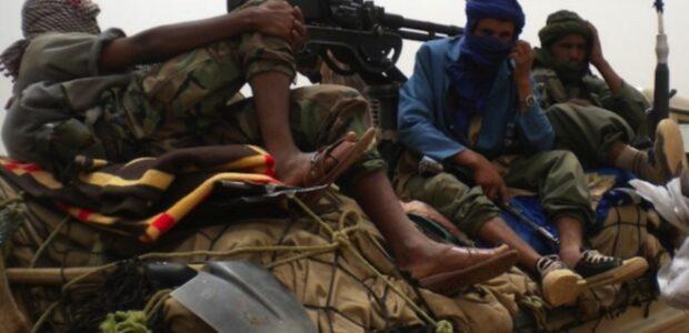 Dschihadisten in Mali / Quelle: Wikipedia, Anne Look / Public domain: https://commons.wikimedia.org/wiki/File:Ansar_Dine_Rebels_-_VOA.jpg