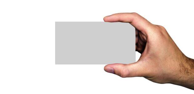 Visitenkarte / Quelle: Pixabay, lizenzfreie Bilder, open library; geralt; https://pixabay.com/de/photos/gesch%C3%A4ft-gesch%C3%A4ftsmann-visitenkarte-3362079/