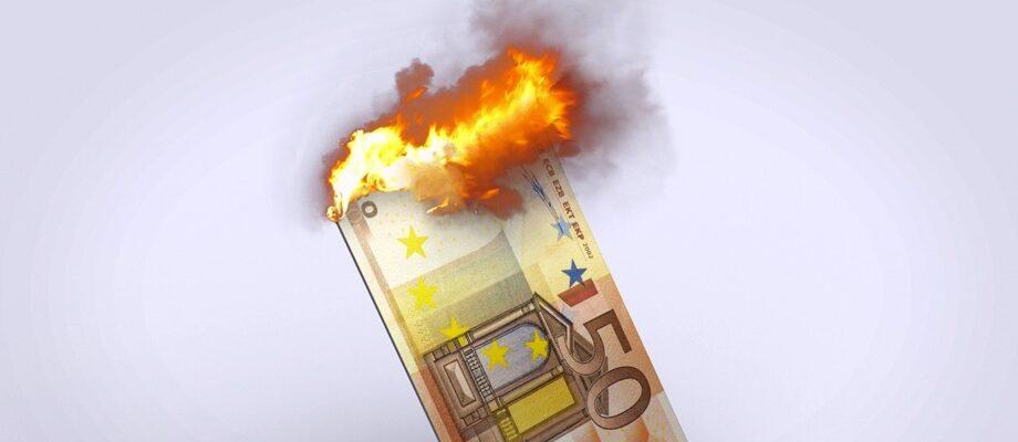 Inflationsrate / Quelle: Pixabay, lizenzfreie Bilder, open librarty: Mediamodifier; https://pixabay.com/de/photos/euro-geld-inflation-w%C3%A4hrung-2387086/