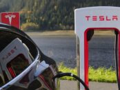 Tesla Elektroauto / Quelle: Pixabay, lizenzfreie Bilder, open library; Blomst: https://pixabay.com/de/photos/tesla-tesla-model-x-aufladen-1738969/