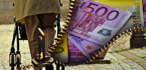 Pensionskassen Alte Rente / Quelle: Pixabay, lizenzfreie Bilder, open library: Alexas_Fotos; https://pixabay.com/de/illustrations/alte-menschen-rentner-rente-geld-1553351/