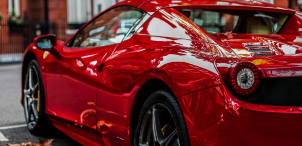 Industrie Design / Ferrari Spider / Quelle: Pixabay, lizenzfreie Bilder, open library: Toby_Parsons; https://pixabay.com/de/photos/ferrari-458-spider-ferrari-458-2932191/