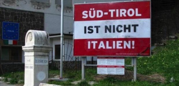 Suedtiroler Feuernacht: Dieses Schild erinnert daran. Foto: SHB/SSB /